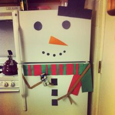Christmas decoration in apartment!super cute!!need to try this for christmas!