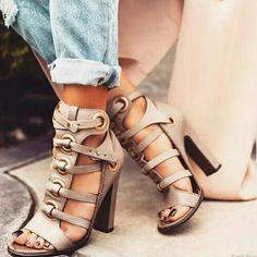 denim et chaussures hautes
