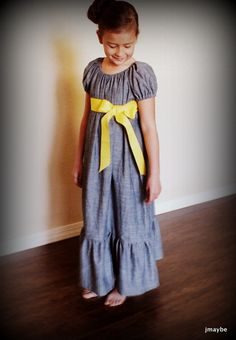 Edwardian style chambray dress by Steady As She Goes by jmaybe, $39.50 so cute