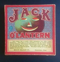 Antique Halloween Jack O'Lantern Milton Bradley Game Complete With Game Pieces Halloween Pictures, Vintage Halloween, Halloween Pumpkins, Milton Bradley, Pumpkin Jack, Jack O, Game Pieces, Old Antiques