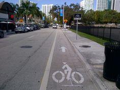 South Miami Ave. Bike Lane