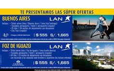 Buenos Aires o Iguazu a una super tarifa.... contactanos a gerencia@alereperutravel.com