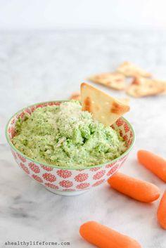 Broccoli Pesto Dip - A Healthy Life For Me http://ahealthylifeforme.com/broccoli-pesto-dip/