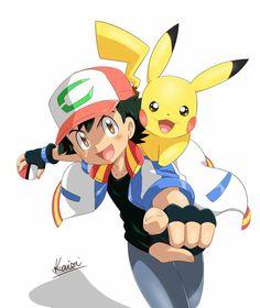 Ash and Pikachu, The movie 2018 - Poke Ball Pokemon Kalos, Pokemon Rayquaza, Pokemon Firered, Pokemon Manga, Pokemon Memes, Pokemon Fan Art, Pokemon Funny, Pikachu Drawing, Pokemon Sketch
