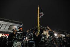 Ladder acrobatics, Kawagoe Matsuri