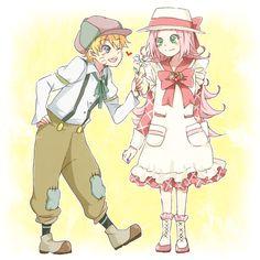 Haruno Sakura and Uzumaki Naruto