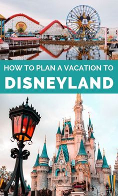 Your Disneyland vacation plan is simple to put together. Just follow these easy steps to make sure you set up the most positive experience. #disneyland #vacation
