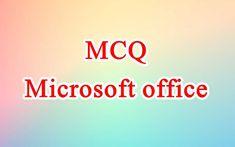 Online Mock Test, Microsoft Office