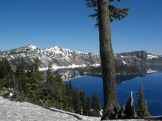 Crater Lake National Park USA