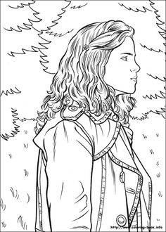 goblet of fire coloring pages | 1000+ images about Color me pretty - Harry Potter on ...