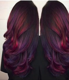 Color deep burgundy deep copper h/l