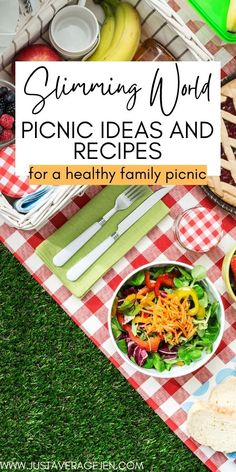 Slimming World picnic recipes and ideas Slimming World Treats, Slimming World Recipes Syn Free, Slimming Eats, Vegetarian Snacks, Healthy Eating Recipes, Low Calorie Recipes, Diet Recipes, Healthy Food, Picnic Snacks