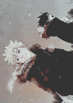 Naruto & Sasuke.