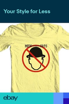 b8772a67443ed5 Men Without Hats T-shirt Safety Dance retro 80s music graphic 100% cotton  tee