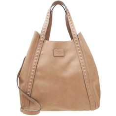 Pepe Jeans ANUSKA - Tote bag - taupe grey - Zalando.co.uk ❤ liked on Polyvore featuring bags, handbags, tote bags, gray tote, grey purse, pepe jeans london, taupe purse and taupe tote