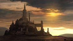 Fantasy Castle , George Johnstone on ArtStation at https://www.artstation.com/artwork/fantasy-castle-c7aff587-3bd7-4b53-8169-f79be337c30b