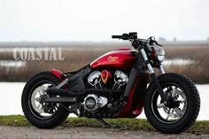 Official Project Scout Winners - Indian Motorcycle dealers around the world competed in a contest to create a 2016 custom Indian Scout. Bobber Motorcycle, Moto Bike, Cool Motorcycles, Indian Motors, Indian Scout, Super Bikes, Street Bikes, Bike Design, Custom Bikes