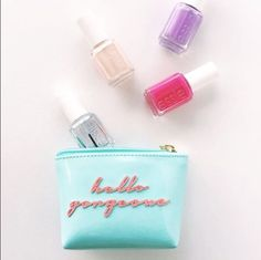Hello Gorgeous -- get weekend ready with a perfectly polished essie mani. xoxo