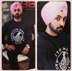 Diljit Dosanjh Vogue Fashion, Mens Fashion, Famous Singers, Celebs, Celebrities, Wedding Men, Indian Wear, Headscarves, Turbans