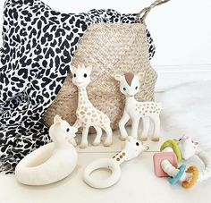 Sophie La Girafe Lazare The Cat Rubber Teether In 2019