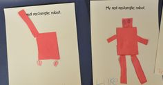 r is for rectangle preschool crafts - Google Search