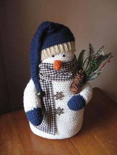 Table Top Snowman Decoration