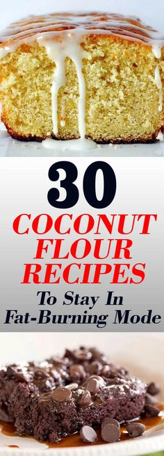 30 Coconut Flour Recipes To Stay In Fat-Burning Mode Coconut Flour Brownies, Coconut Flour Cakes, Coconut Pancakes, Coconut Flour Recipes, Raisin Cookies, Chocolate Chip Cookies, Coconut Flour Biscuits, Coconut Pineapple Cake, Banana Crepes