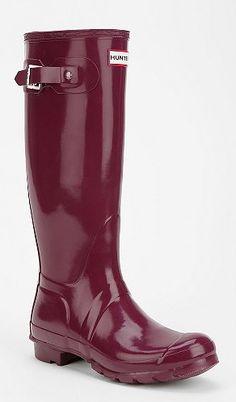 Hunter rainboots. #wishlist