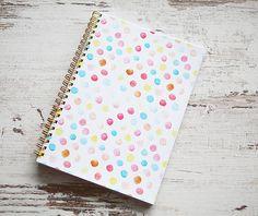 ArtStore / Bodkovaný zápisník Notebook, The Notebook, Exercise Book, Scrapbooking