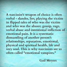 Narc'a weapon of choice
