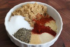 The Perfect Recipe for a Sweet Rub. Great on grilled chicken and pork!