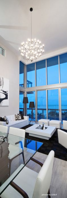 ideas for house beach luxury living rooms Modern White Living Room, Coastal Living Rooms, Home Living Room, Living Room Designs, Home Interior Design, Interior Architecture, Modern House Design, Luxury Living, Palazzo