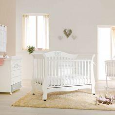 Baby bed Prestige Tiffany by Pali at www.myitalianliving.com #babynursery #nurseryroom #babyroom #babydecor #babycot #cot #nurseryfurniture #nurseryinspiration #baby #kidsroom #furniturebaby #furniturekids #babyinterior #nurseryinterior #bambino #decor #inspiration #italianfurniture #detki #dekor #russia #italia #london #uk #ideas #affordable #contemporary #classy