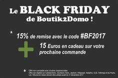 Touteladomotique | Le Black Friday de la #domotique