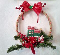 Christmas wreath Christmas Ideas, Christmas Wreaths, Spirit, Holiday Decor, Creative, Home Decor, Decoration Home, Room Decor, Home Interior Design