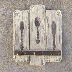 Věšák do kuchyně Decoupage, Kitchen, Cooking, Kitchens, Cuisine, Cucina