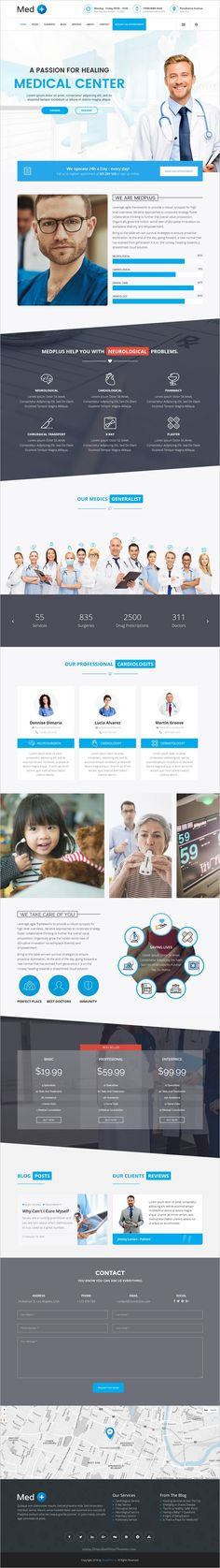 MedPlus is a completely versatile responsive #WordPress theme for #webdev #medical, #healthcare and hospital website with 11+ multipurpose homepage layouts download now➩ https://themeforest.net/item/medplus-medical-health-wordpress-theme/17458622?ref=Datasata