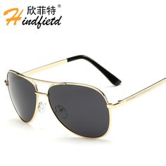 e65b8c83099 UV400 driving Sunglasses 2016 top High Quality Polarized for men Aviation  Sun glasses brand Designer male protection Vintage new-in Sunglasses from  Men s ...
