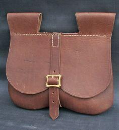 Medieval belt wallet