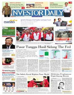 Investor Daily - 15/06/15   Pasar Tunggu Hasil Sidang The Fed   Investor Daily