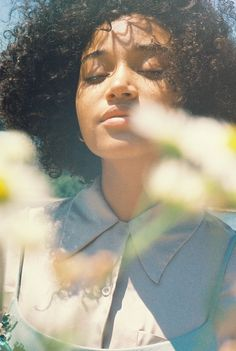 Amandla Stenberg by Petra Collins for NYLON Magazine, 2015