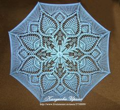 Parasol pattern that would also make a nice table topper...