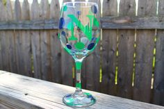 Personalized Wine Glasses 20 oz Bridemaids Birthdays by ahindle78, $10.00