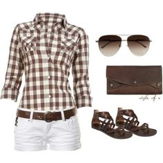 Summer outfit. cute