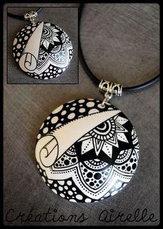 W Fine Porcelain China Diane Japan Product Paper Jewelry, Fabric Jewelry, Jewelry Art, Beaded Jewelry, Jewelry Design, Polymer Clay Necklace, Polymer Clay Pendant, Polymer Clay Art, Porcelain Clay