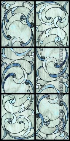 """Stained """"Laguna"""" 