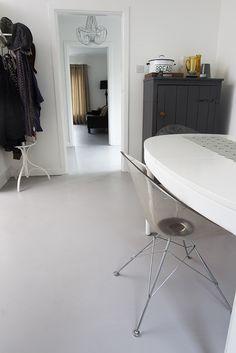 Poured Resin floor