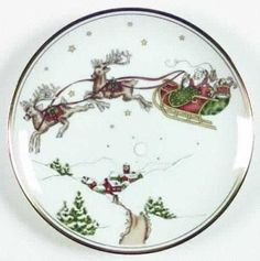 fitz and floyd Christmas pattern- love Christmas china!