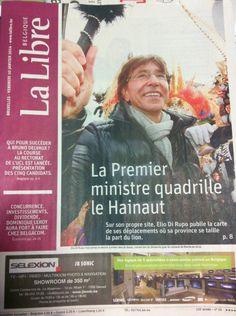 Spotted in La Libre Belgique