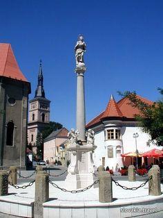 Slovakia, Pezinok - Town Small Carpathian Wine Route